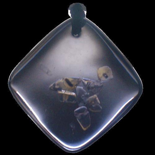 Quantum Balance Crystals QBC pendants, black